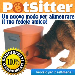 Distrubutore alimenti per animali domestici